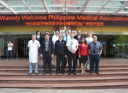 Modern Cancer Hospital Guangzhou, cancer treatment technology, Philippine Medical Association