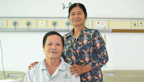 I Felt the Doctors' Benevolence -Commented Nguyen Huu Thang from Hanoi, Vietnam