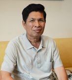 Chem Chhay from Phnom Penh, Cambodia: Love from Family Is the Key