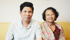 Phnom Penh and His Wife