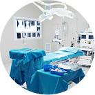 Lingkungan rumah sakit yang modern, peralatan medis canggih internasional di Eropa dan Amerika