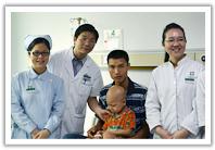 ผู้ป่วยมะเร็งกล้ามเนื้อลายบนใบหน้า- หร่วนเหวินตัว