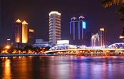 Thăm quan sông Châu Giang về đêm