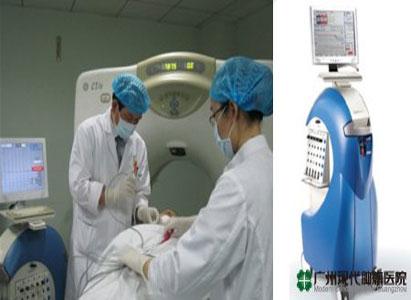 Pengobatan Cryosurgical, Kanker Paru-paru